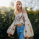 Martha-Off-Shoulder-Bishop-Sleeves-Floral-Embroidery-Crop-Top
