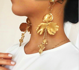 Gina Floral Earrings | Vintage Style