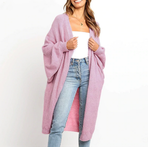 Ella Cardigan |  Oversize autumn winter cardigan coat