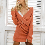 Sofia Knit Dress | sweater dress oversize loose knitted dress