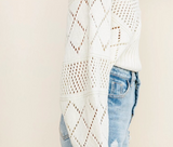 Tori Knitted Sweater | Backless Hollow Out