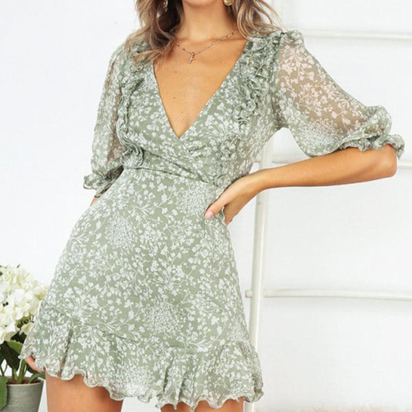 Ryan Sage Dress | Dresses Robe Femme Casual Summer Dress Half Sleeve Party Dress