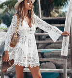 Lilly Lace Dress | Flare Sleeve