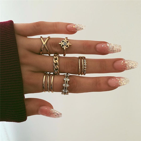 Ivy Linked Rings | Set