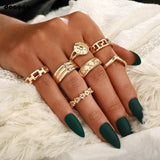 Taina Gold Rings | Geometric