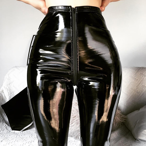 Charlize Leather Pant | High Waist Skinny