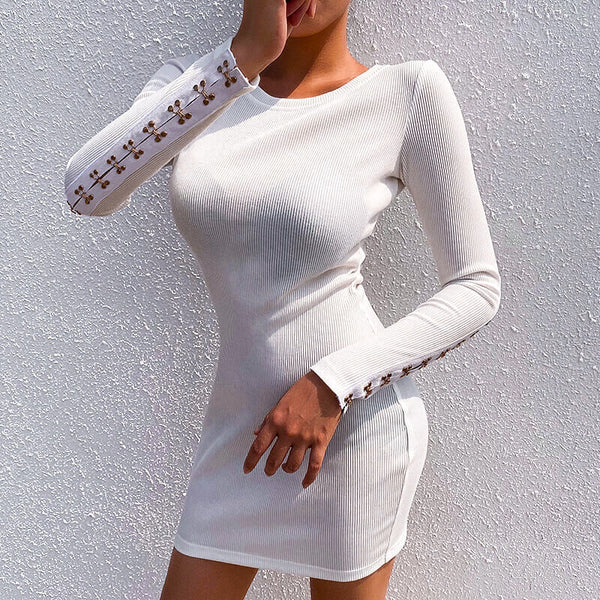 Corie Knitted Dress | Body Con