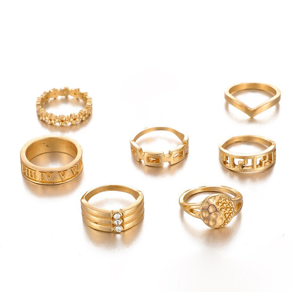 Anna Ring Set | Gold