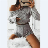 Kya Knitted Set | Cropped