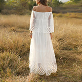 Gretchen Lace Dress | Chiffon