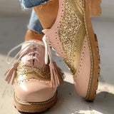 Lori Brogue Shoes | Glitter