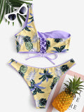 Stella Tropical Lace-Up Bikini