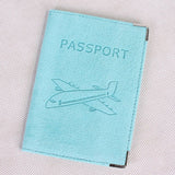 Passport | Genuine leather suede passport Holder
