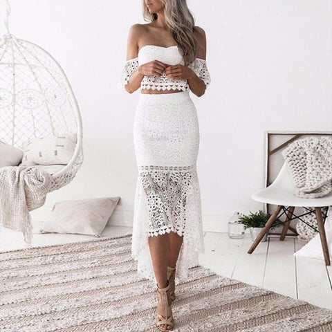 Hermione-Off-Shoulder-Tube-Top-Asymmetric-Pencil-Skirt-Two-Piece-Sheer-Lace-Dress-Set