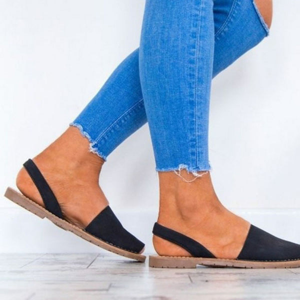 CeCe | Flat Sandals Peep Toe