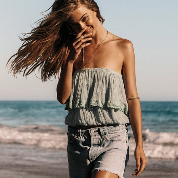 Zane Off Shoulder Top | Blouse Beach Tube Top