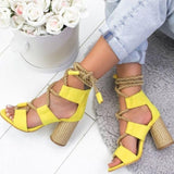 Jessie Strap Sandals | Shoes Colorful Strappy Sandals High Heels