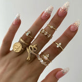 Genna Boho Rings | Gold