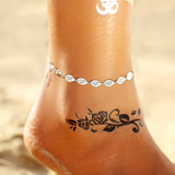 Heidi Anklets | Bohemian Sea Shell Beads Anklets