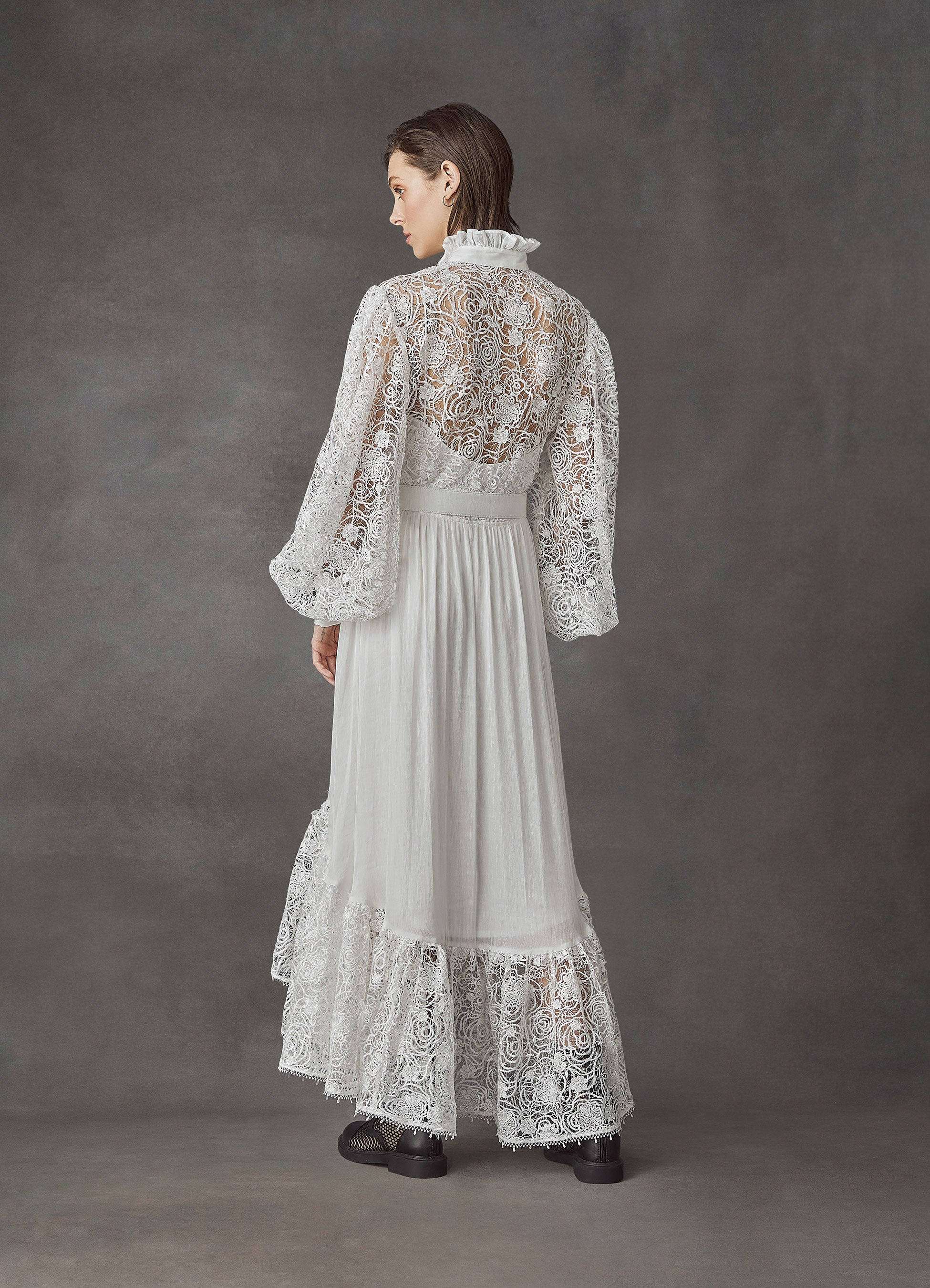 Immaculate Lace Dress