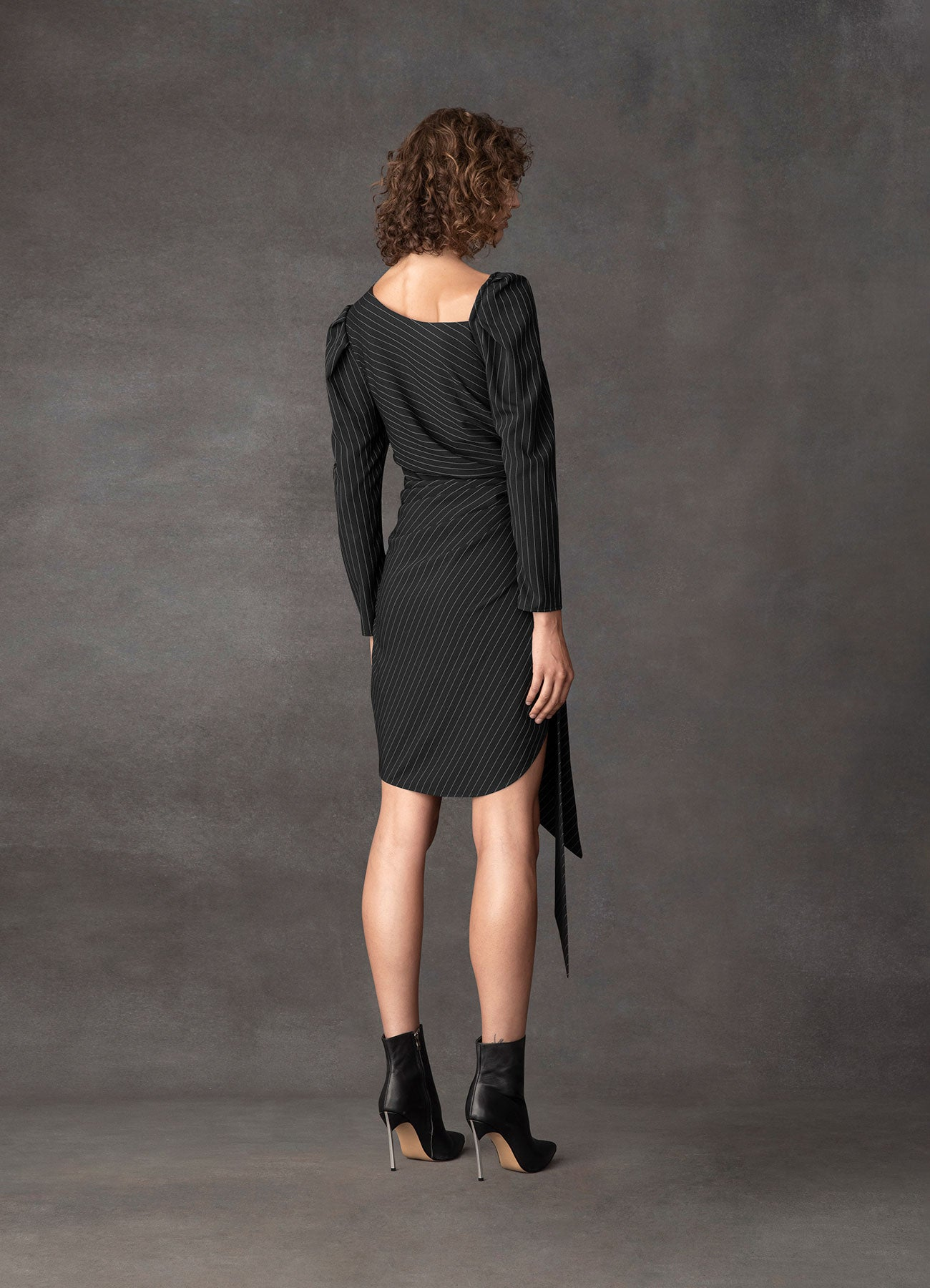 Shooting Star Suiting Knotted Dress