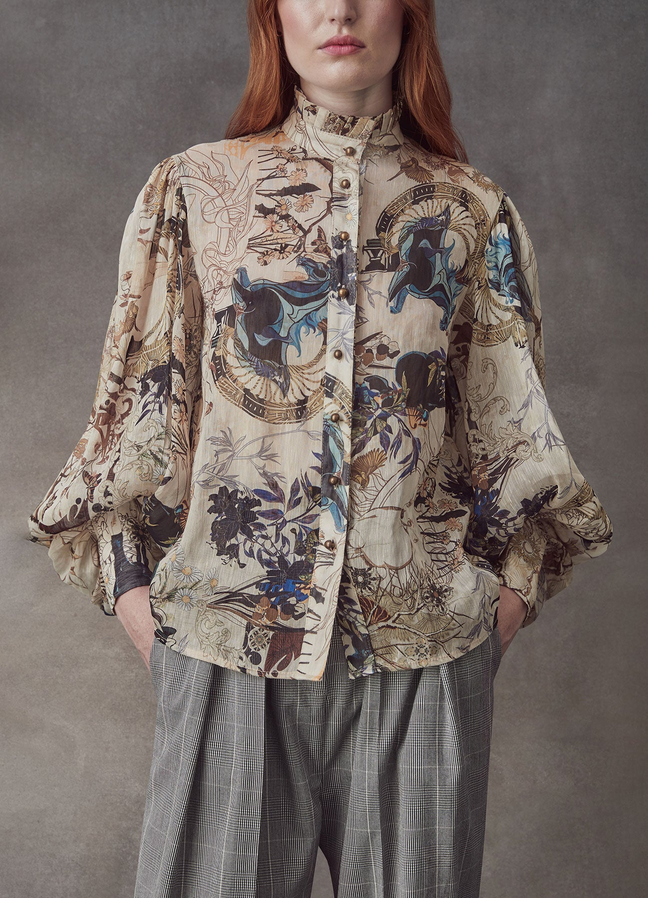 The Lover Silk Linen Shirt