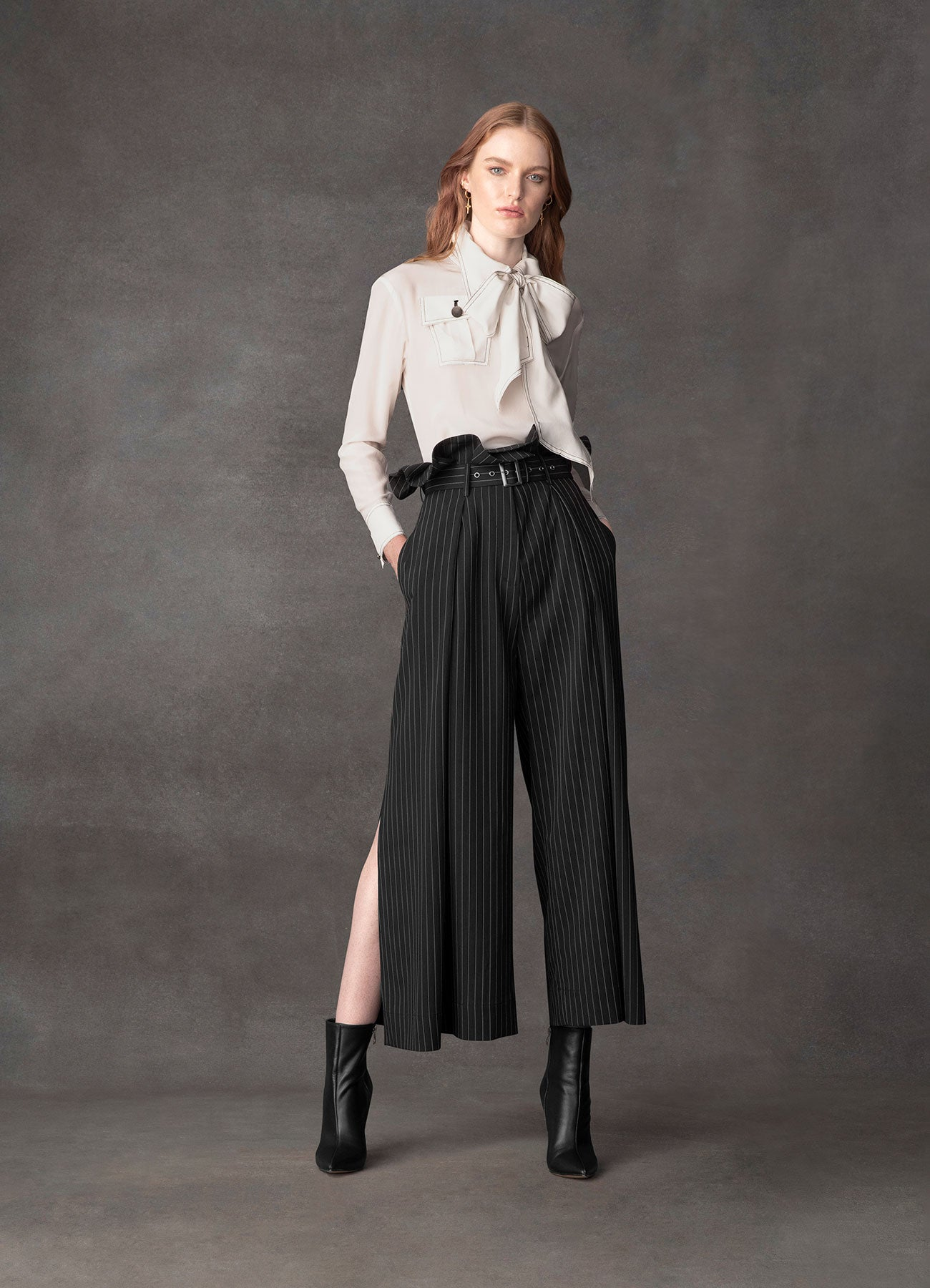 Shooting Star Suiting Wide Pant