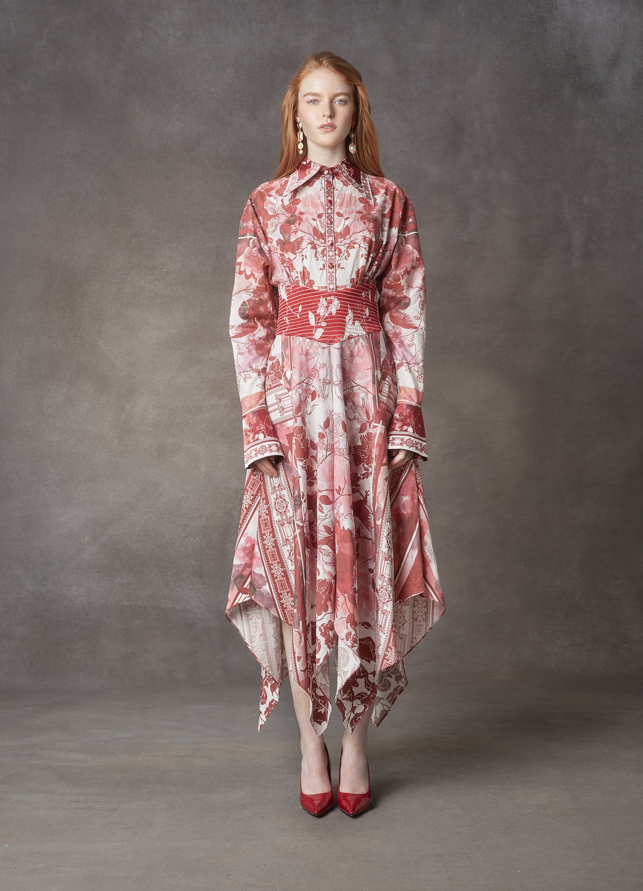 Imperial Handkerchief Dress - LEO & LIN