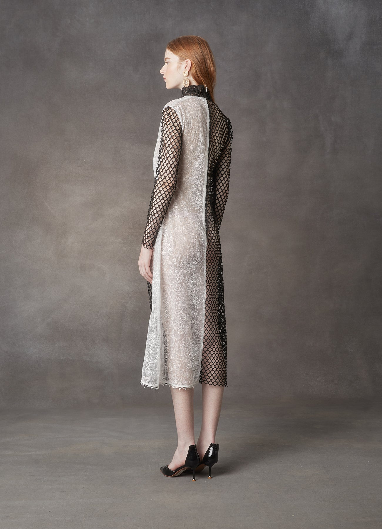 Pluto Drape Knotted Dress - LEO & LIN