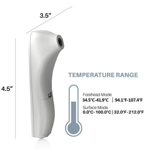 Forehead Thermometer Medical Pro (Ear Thermometer No-Touch)