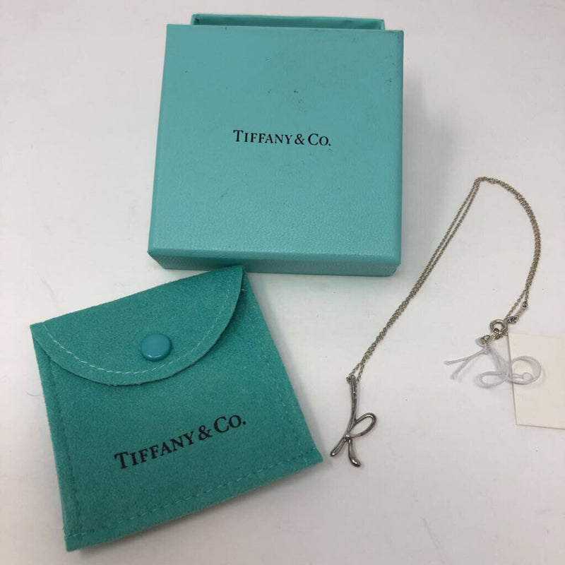 Tiffany & Co Initial K necklace