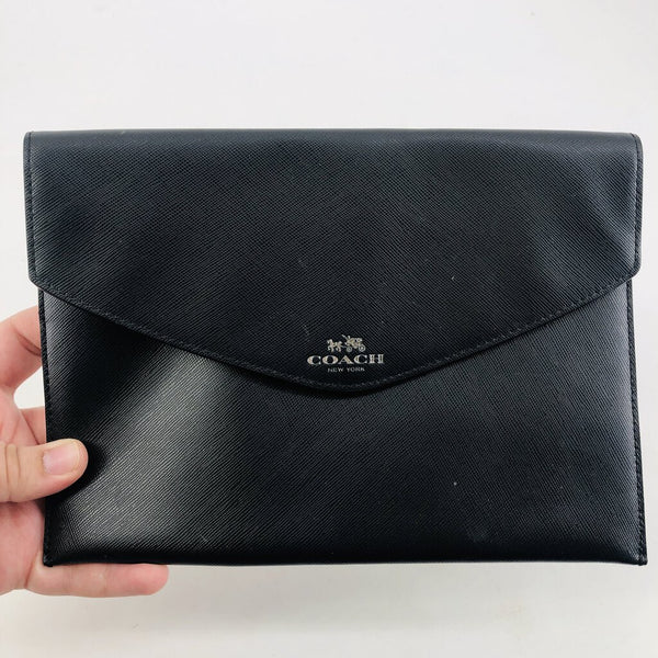 saffiano leather envelope sleeve