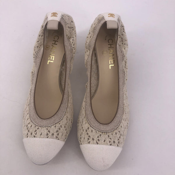 41 stretch crochet CHANEL shoes