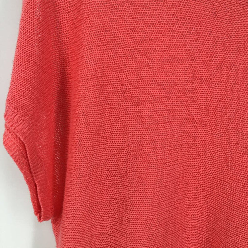 SZ L loose knit top