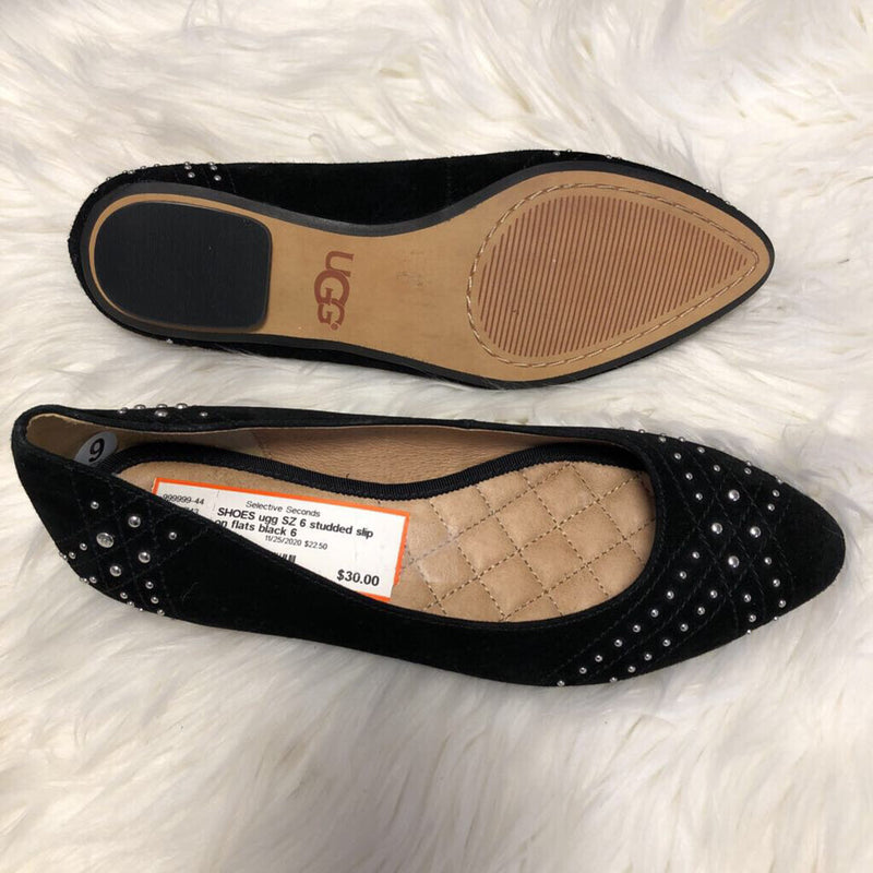 SZ 6 studded slip on flats