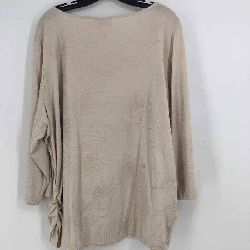 SZ 3x ruched side top