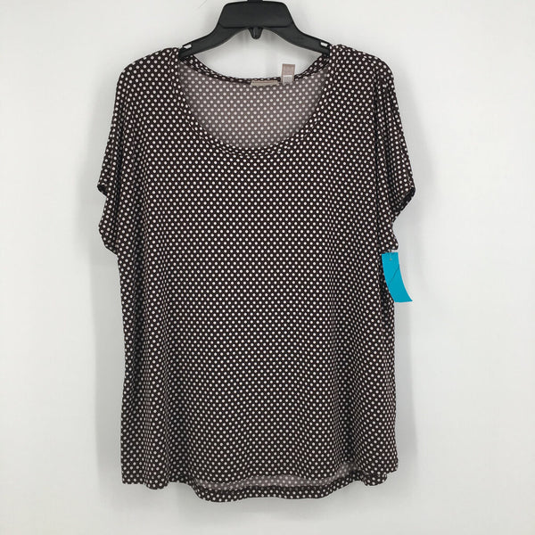 SZ 3 polka dotted s/s