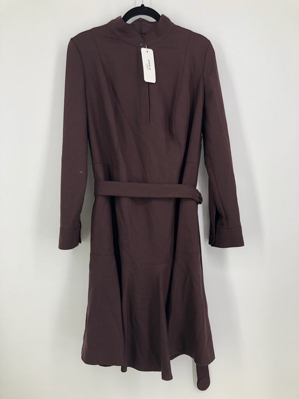 Sz 14 l/s dress w/belt