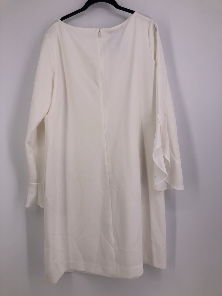 Sz Large l/s dress w/ruffle slv