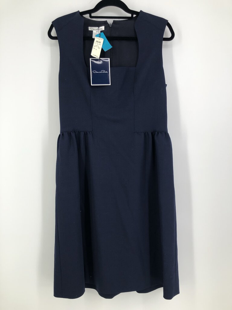 Sz 14 s/less dress sq neck