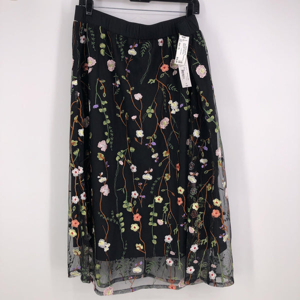 SZ XL NWT floral skirt
