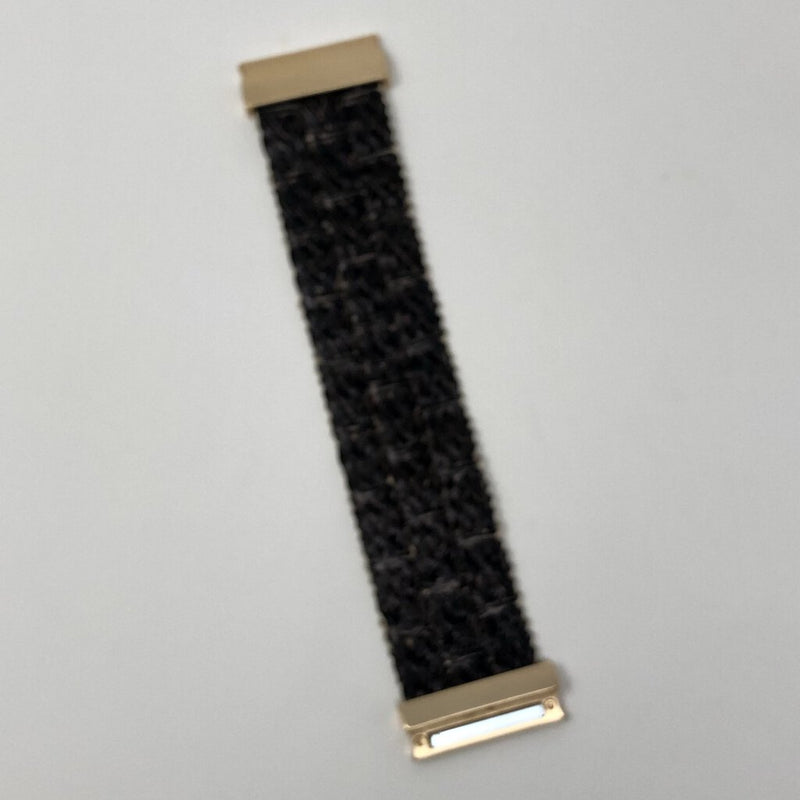 wide brown magnetic bracelet