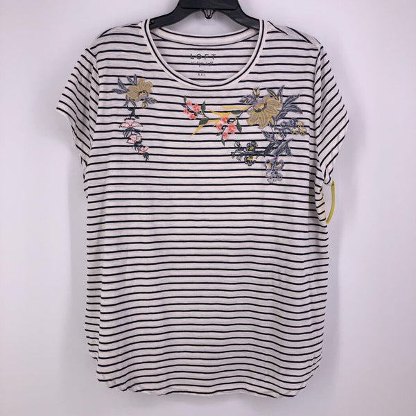 SZ XXL striped s/s