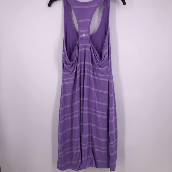 Sz XL striped racer back dress slvls