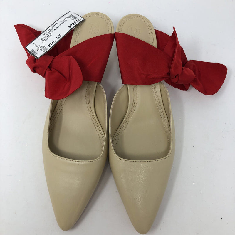 The Row SZ 40.5 slip on pumps with bows