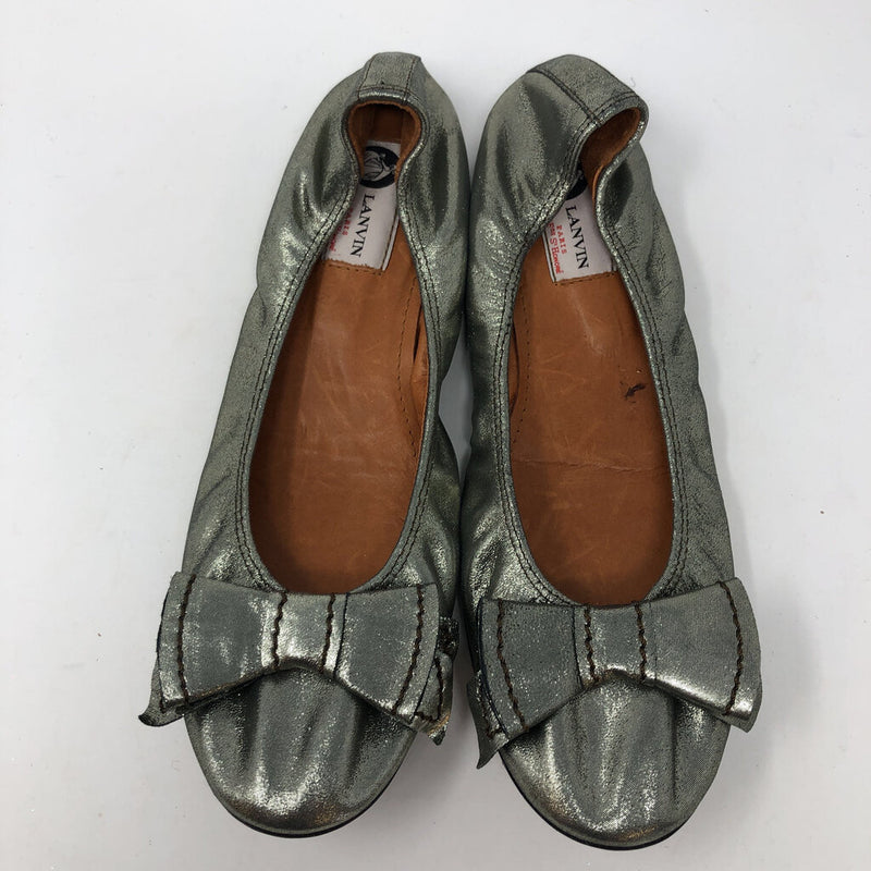 Lanvin SZ 41.5 flats with bow