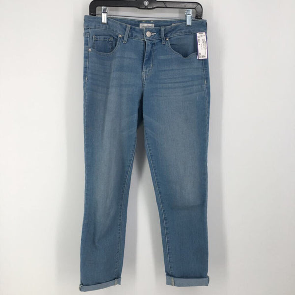 Sz 8 denim capris