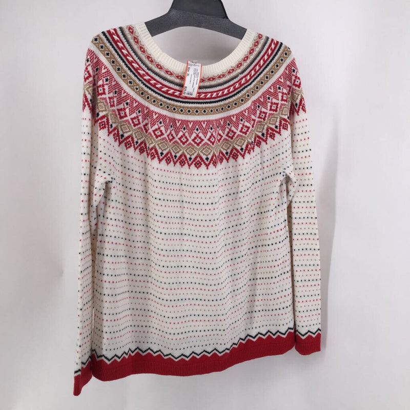 Sz XL Nwt pull over sweater