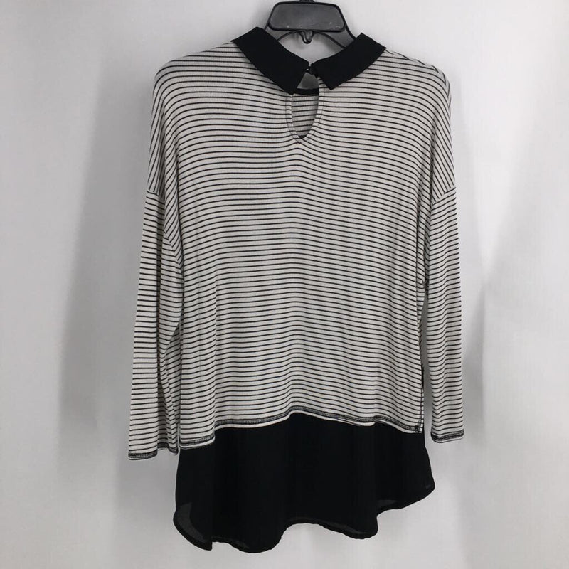 Sz MP l/s stripe top