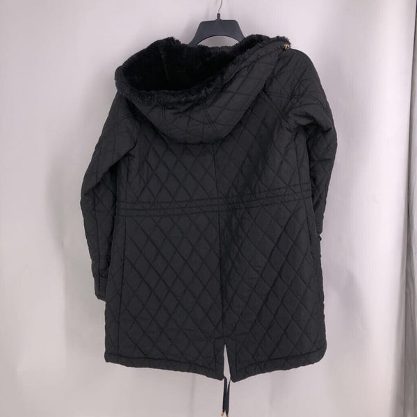 Sz M quilted parka